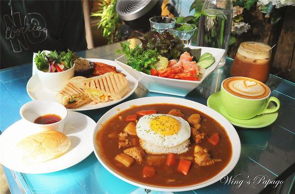 大稻埕咖啡D.G Café/迪化街花園咖啡/鄉村風咖啡廳/下午茶/早午餐brunch/大橋頭站美食。