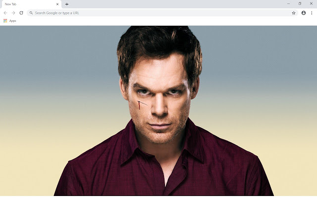 Dexter New Tab & Wallpapers Collection