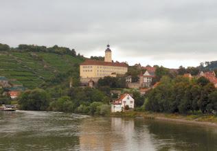 Photo: Schloss Horneck am nächsten morgen