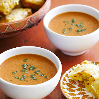 Tomato Soup with Cornbread
