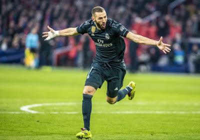 """Karim Benzema empile de nouveau les buts : """"Je jouais en fonction de Cristiano"""""""