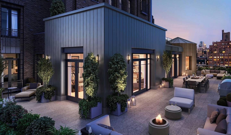 Appartement avec piscine New York