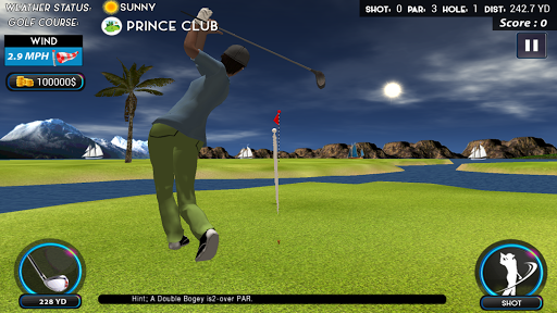 Top Real Star Golf Master 3D 1.0 screenshots 1