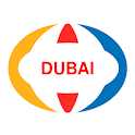 Dubai Offline Map and Travel Guide icon