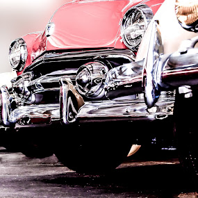 Bumper to Bumber by Boyd Smith - Transportation Automobiles ( classic cars, car collection, garage, cars of the 40's and 50's )