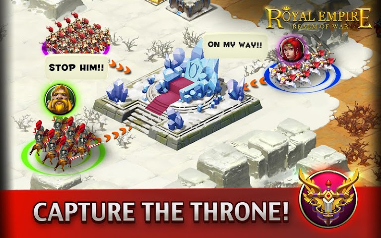 android Royal Empire: Realm of War Screenshot 3