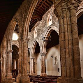 MEDIAEVAL CHURCH... by Luis Orchevecs Ferenczi - Buildings & Architecture Public & Historical