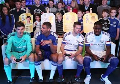 Thibaut Courtois en Ruben Loftus-Cheek stelen de show en winnen trofee met Chelsea... Op FIFA 16