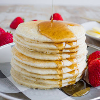 4 Ingredients Blender Pancakes Recipe