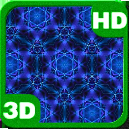 Colorful Kaleidoscope Blue Eye