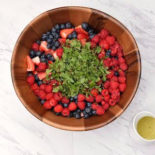 Mojito Fruit Salad.