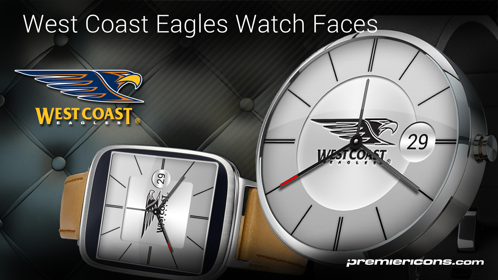 West Coast Eagles Watch Faces- screenshot