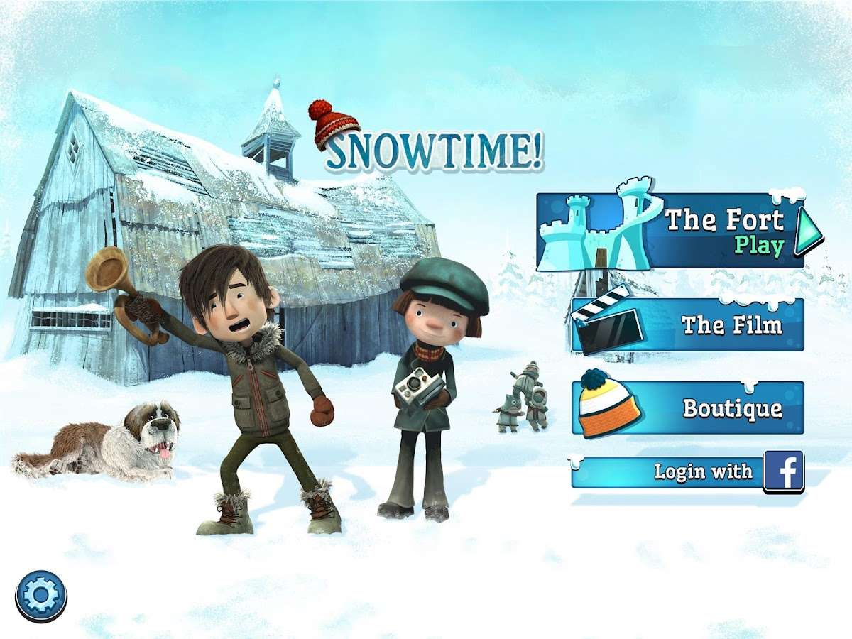 Snowtime Game- screenshot