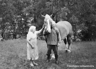 Photo: Klasboda Ingrid och Gustaf Andersson 1959