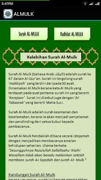 Men Download Surah Al Mulk Dan As Sajdah Aplikasi Versi Apk