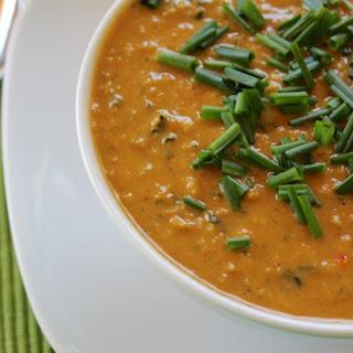 Peanut Butter Garbanzo Soup