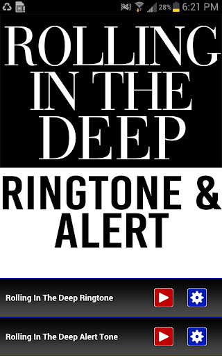 Rolling in the Deep Ringtone