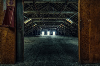 Photo: Three wise men  Another redux from an old photo taken so many moons ago in an abandoned mill with +Bob Lussier. The concept framing within the frame is really important to me and I love implementing it when it makes sense. Initially, the horizontal ceiling beams really attracted me but when I had my camera through the doorway, there was far less impact.  Once I incorporated the vertical lines of the doorway, I noticed a much clearer flow of directionality. It was further complemented by the beams that reached out towards the vanishing point.