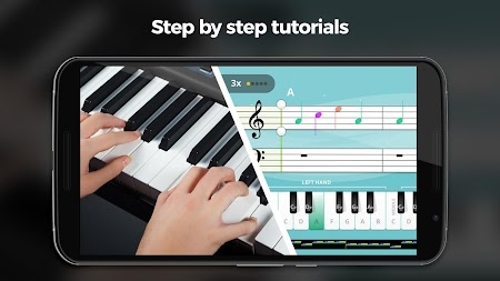 Yousician -  Learn Guitar, Piano, Bass & Ukulele APK screenshot thumbnail 4