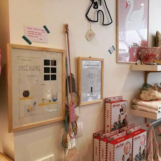 Little Menthe - Cadeau de naissance tableau personnalisé