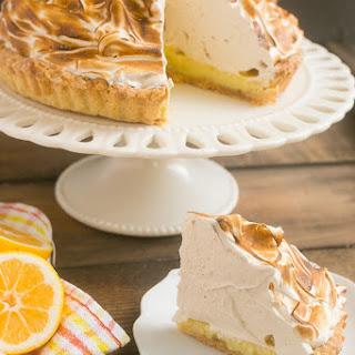 Lemon Tart with Brown Sugar Meringue