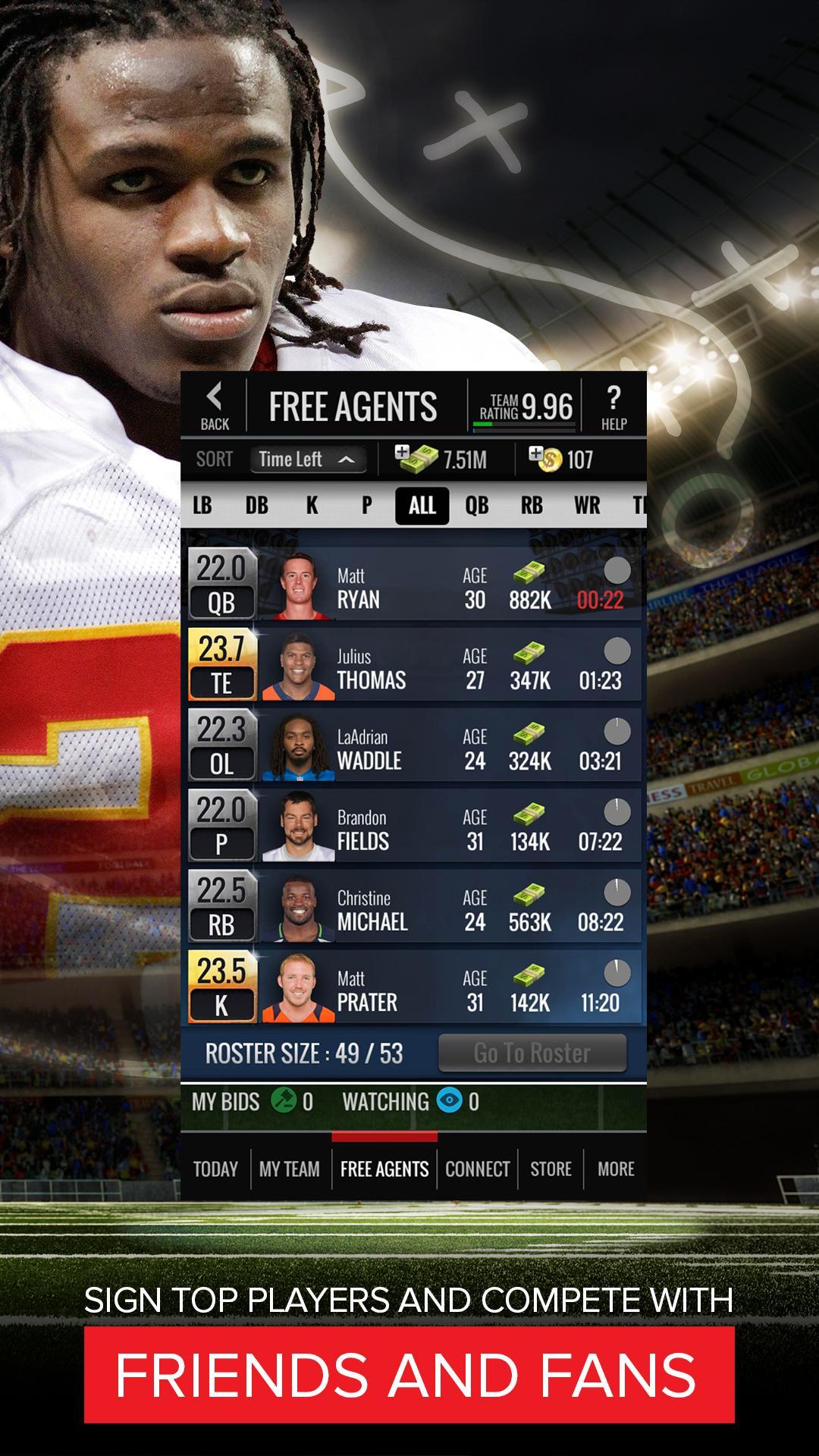 NFL Showdown: Football Manager screenshot #4