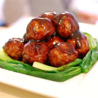 Black Vinegar meat balls
