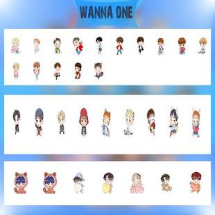 Sticker Wanna One Cartoon meme - For WhatsApp for PC