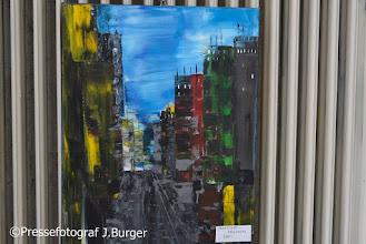 """Photo: Vernissage Oskar Trücher """"Figuratives und Abstraktes"""" am 5.9.2015 in der Kunst - Werk-Werk - Kunst-Galerie"""
