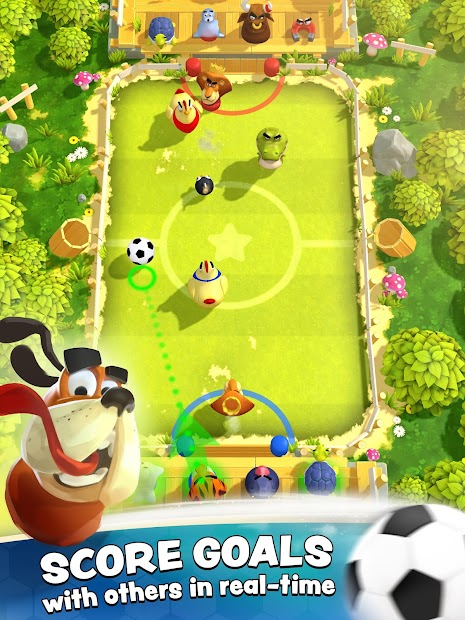 Rumble Stars Football Android App Screenshot