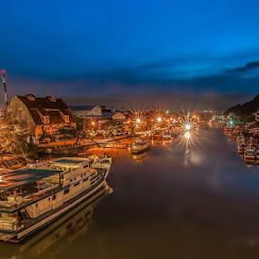 Muara Padang by Taufik T KamaMoto - City,  Street & Park  Vistas