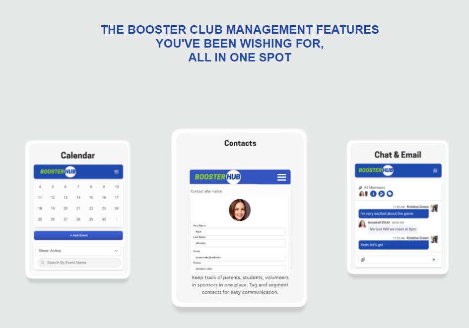 BoosterHub example for product market fit