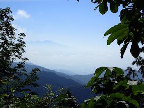 高山市と乗鞍岳