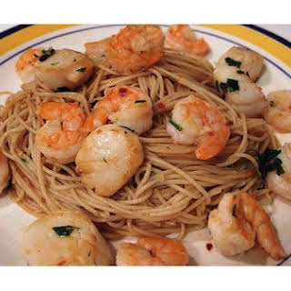 Spicy Seafood Pasta.