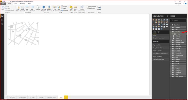 Interactive Dashboard In Microsoft Power BI 49