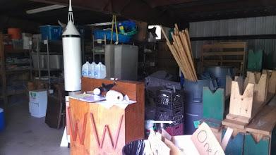 Photo: Conference center storage