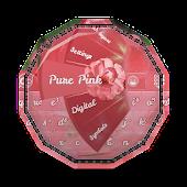 Pure Pink GO Keyboard Theme