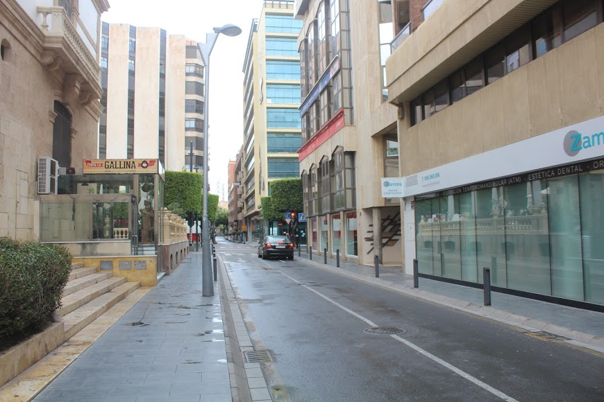 Calle General Tamyo.