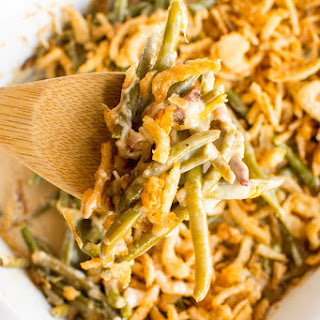 Crockpot Green Bean Casserole + Win a Slow Cooker!!