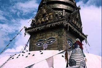 Photo: Kathmandhu, Swayambunath