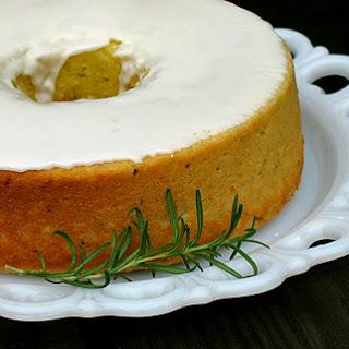 Lemon Rosemary Olive Oil Cake.