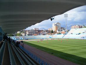 Photo: 15/04/11 - Dinamo Tirana v KS Skenderbeu (Kategoria Superiore) 2-3 - contributed by Dave DJ Johnston