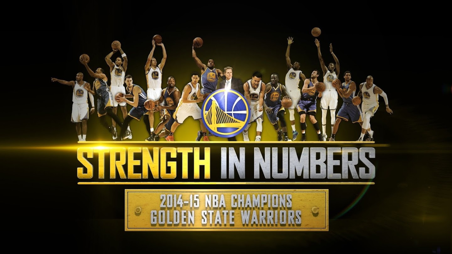 Watch 2015 Golden State Warriors: Strength in Numbers live