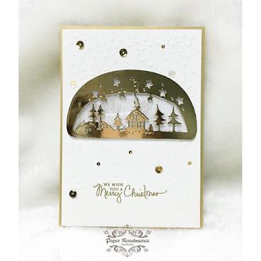 手造聖誕卡