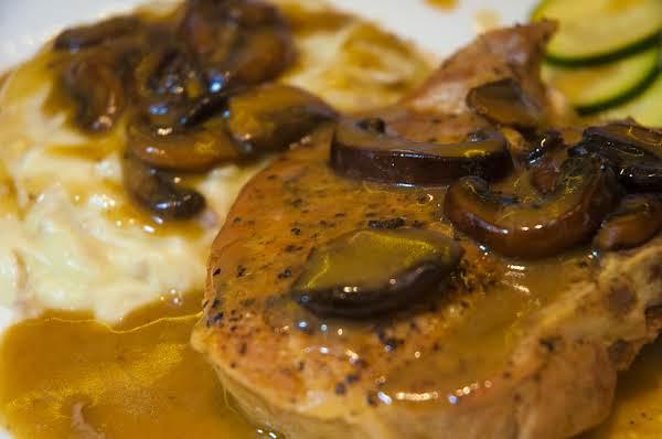 Pork Essentials: Creamy Mushroom Pork Chops Recipe