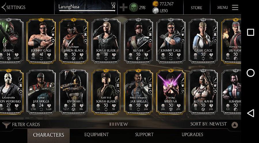 Tokoh-tokoh Mortal Kombat X
