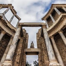 Teatro Romano Mérida by Daly Sda - Buildings & Architecture Architectural Detail ( old, theatre, architecture )