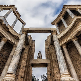 Teatro Romano Mérida by Daly Sda - Buildings & Architecture Architectural Detail ( old, theatre, architecture )