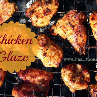 Coconut Oil Chicken Glaze