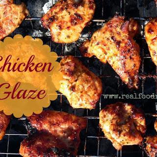 Coconut Oil Chicken Glaze.